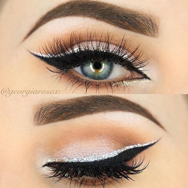 What is sparkly eyeshadow?