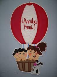 Resultado de imagen para decoracion fiestas patrias peruanas