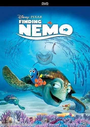 Finding Nemo DVD Disney Pixar SHIPS RIGHT NOW !! Single Disc Edition NEW
