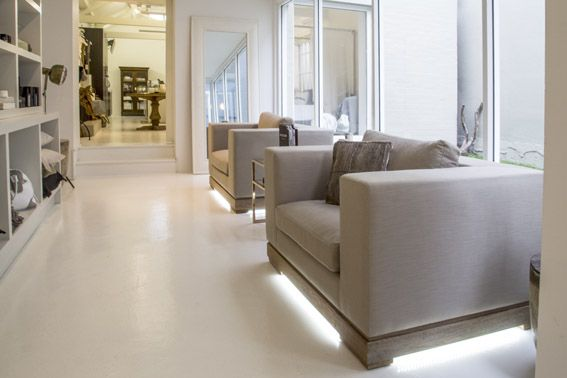 Our Boutiqe : Interior - we are soooo in love with these grand armchairs.
