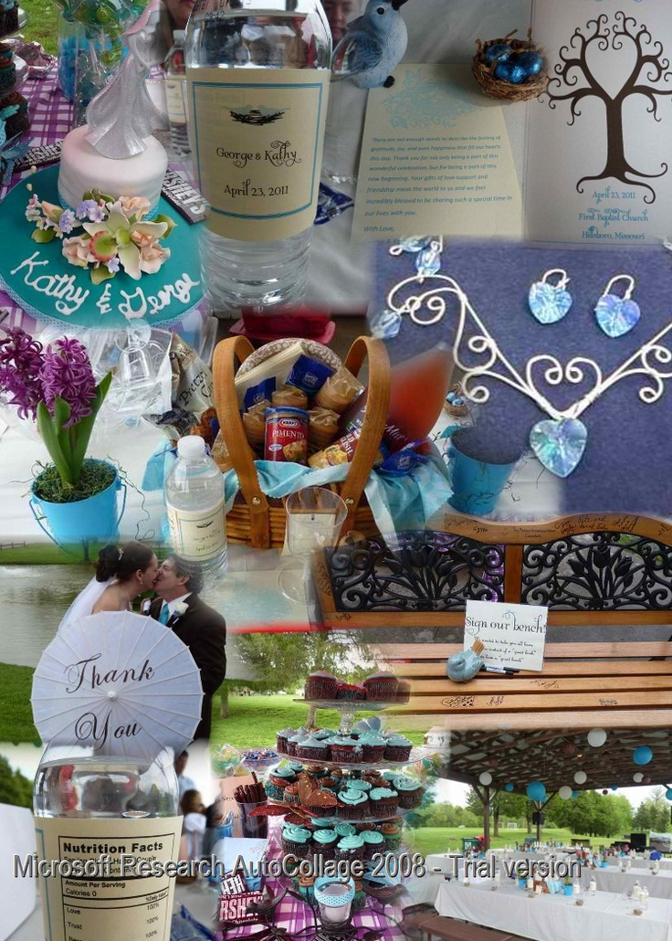 Details of a picnic wedding reception. Pictures taken by Pam Pavely.