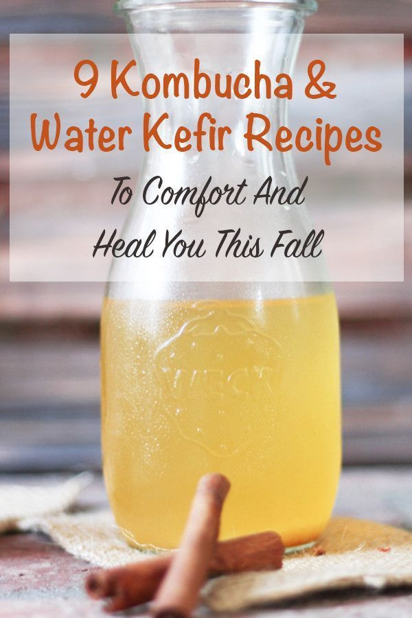 9 kombucha and water kefir recipes to comfort and heal you this fall. Flavor these probiotic, immune boosters with warming fall spices and fruit.