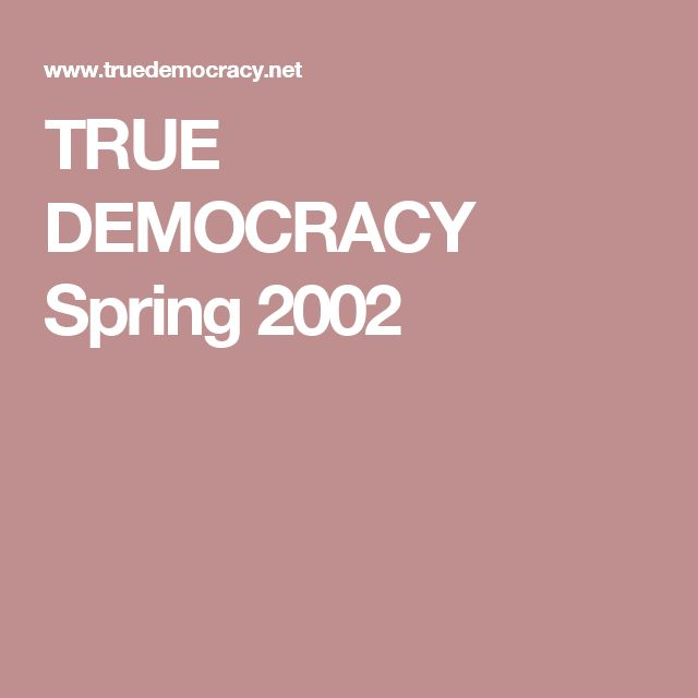 """TRUE DEMOCRACY Spring 2002: """"Americares"""";the role of 'Americares' wolf in sheeps clothing. The strangulation of Iraq through sanctions is a policy shrouded in official lies whose devastating consequences have been ignored by the major corporate media."""