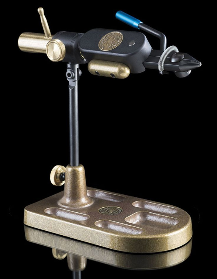 Regal Revolution Fly Tying Vise - Traditional Head And Bronze Pocket Base | eBay