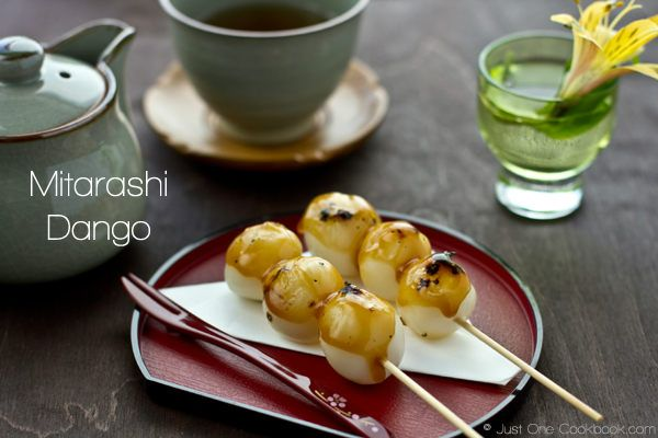 Mitarashi Dango みたらし団子 | Easy Japanese Recipes at JustOneCookbook.com