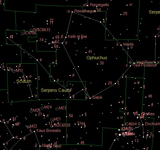 The 13th Zodiac Sign - Ophiuchus   The Mind Unleashed
