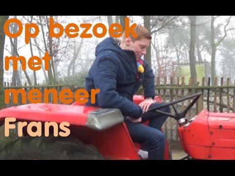 Op bezoek met meneer Frans: De boerderij (Lente) - YouTube