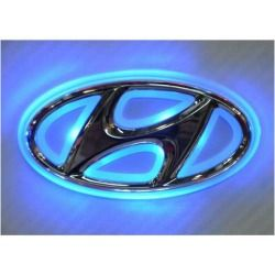 Generic LED Car Tail Logo Auto Badge Light Blue light For Hyundai I30 Sonata Elantra - product - Product Review