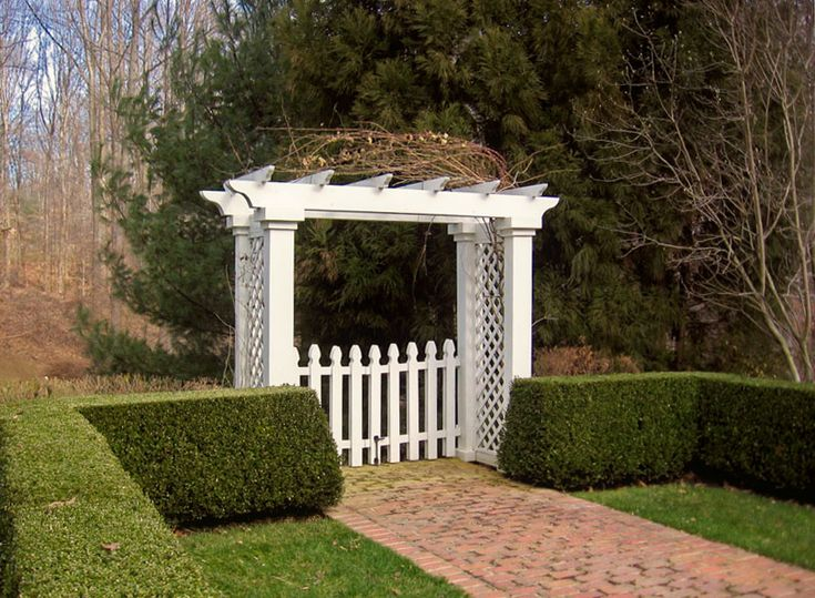 Garden Gate Arbors Designs the gate is offset with the the fence entry gate with arbor fence los angeles california red grey two tone gate pergola privacy fence Garden Arbors Pergolas Designs By Sisson Landscapes