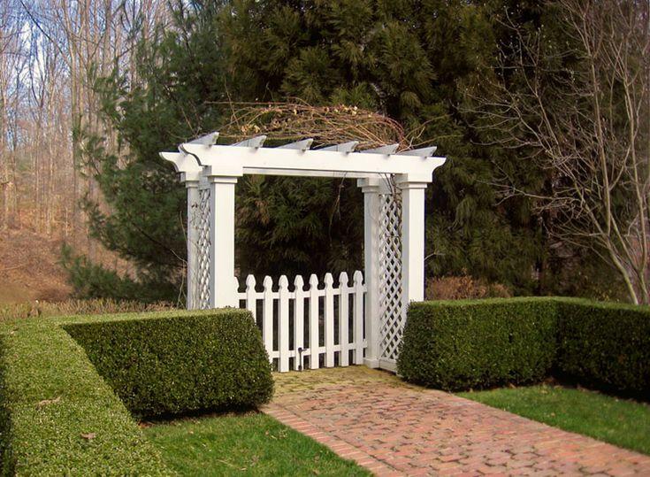 Garden Gate Arbors Designs gate design idea Garden Arbors Pergolas Designs By Sisson Landscapes