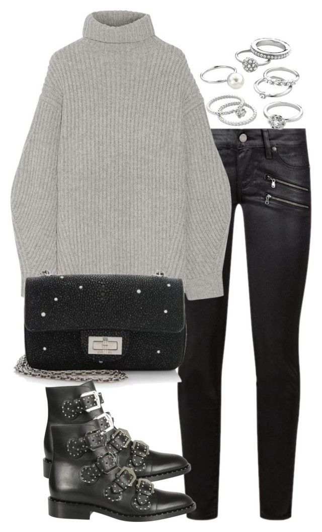 """""""Untitled #2607"""" by theeuropeancloset on Polyvore featuring Paige Denim, Acne…"""