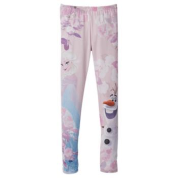 Disney's Frozen Elsa and Olaf Leggings - Girls 7-16