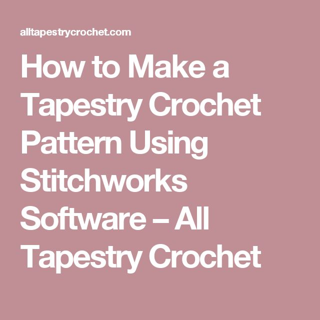 Crochet Pattern Software Image Collections Knitting Patterns Free