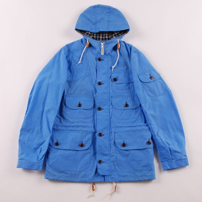 Junya Watanabe Man Fisherman Parka - Blue (Image 1)