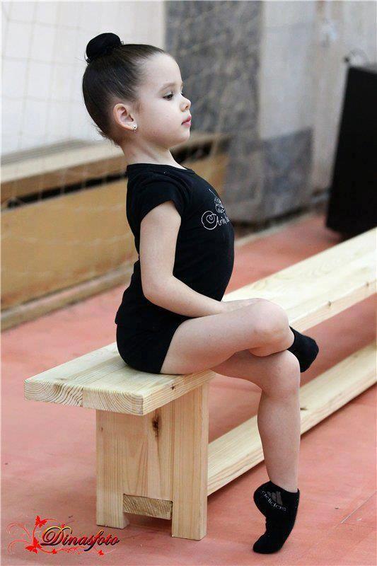 petite danseuse sérieuse