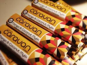Chocolat cru vegan au lait de coco et mangues séchées - 38 g