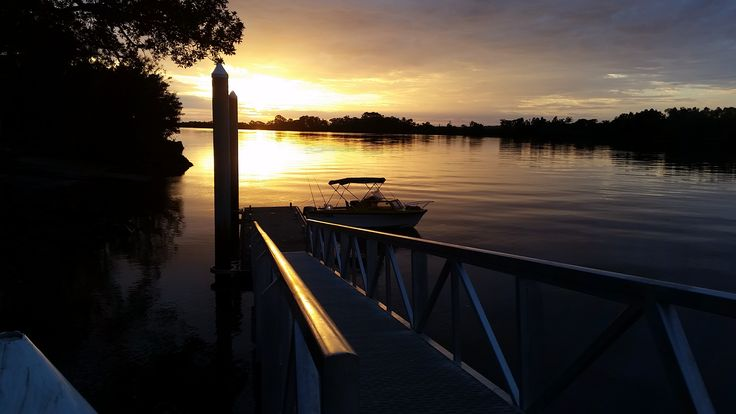 early morning over the Richmond River