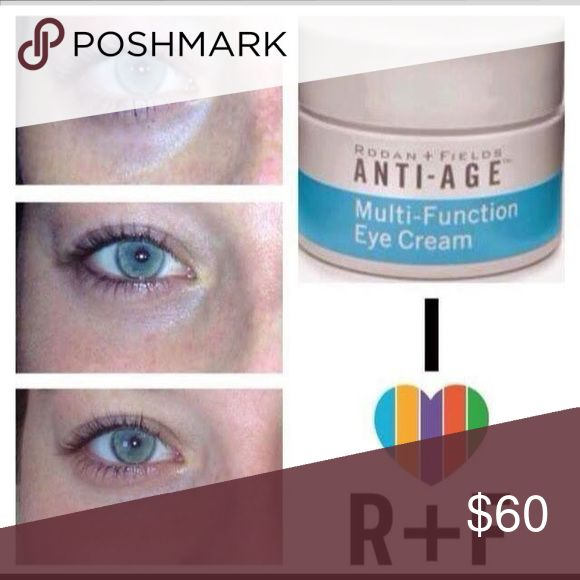 Multi Function eye cream Minimizes the look of fine lines, wrinkles, dark circles and puffiness around eye area! Rodan+Fields Other