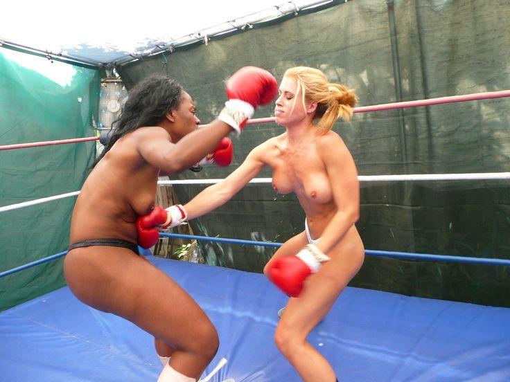 Alaskan women topless boxing 5