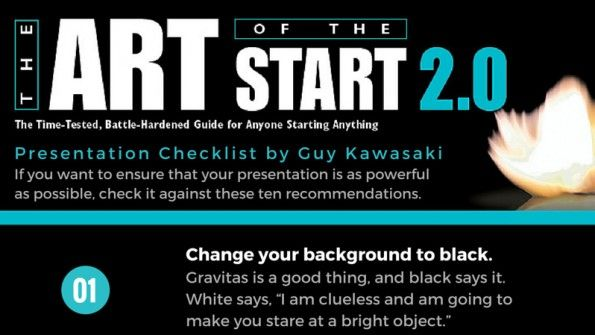 Die perfekte Präsentation: 10 Tipps von Marketing-Guru Guy Kawasaki [Infografik]