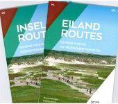 Eilandroutes - Webshop - VVV Texel  Geheime plekjes met bijzondere verhalen.  De beste manier om Texel te ontdekken, is per fiets of te voet. Met de routes uit dit boekje komt u op de mooiste plekjes van het eiland en leest u de leukste achtergrondinformatie. De routes zijn niet bewegwijzerd; soms bevatten ze wel een stukje langs bijvoorbeeld blauwe paaltjes of het Noord-Hollandpad.  Dit boekje bevat 4 fietsroutes en 10 wandelingen
