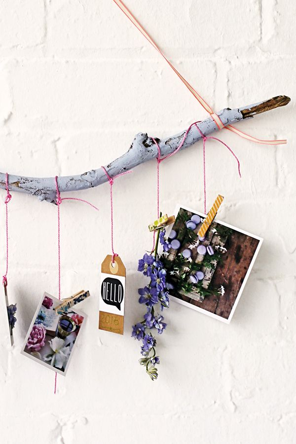 DIY wall hanging for creatives | Emily Quinton | featured in Mollie Makes calendar 2016