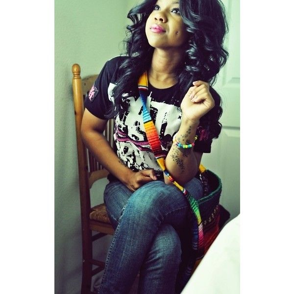 pretty black girl | Tumblr ❤ liked on Polyvore