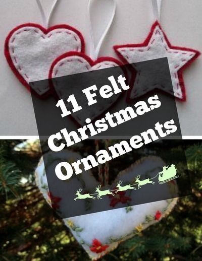 93 Unique Christmas Ornaments To Make Now | AllFreeChristmasCrafts.com