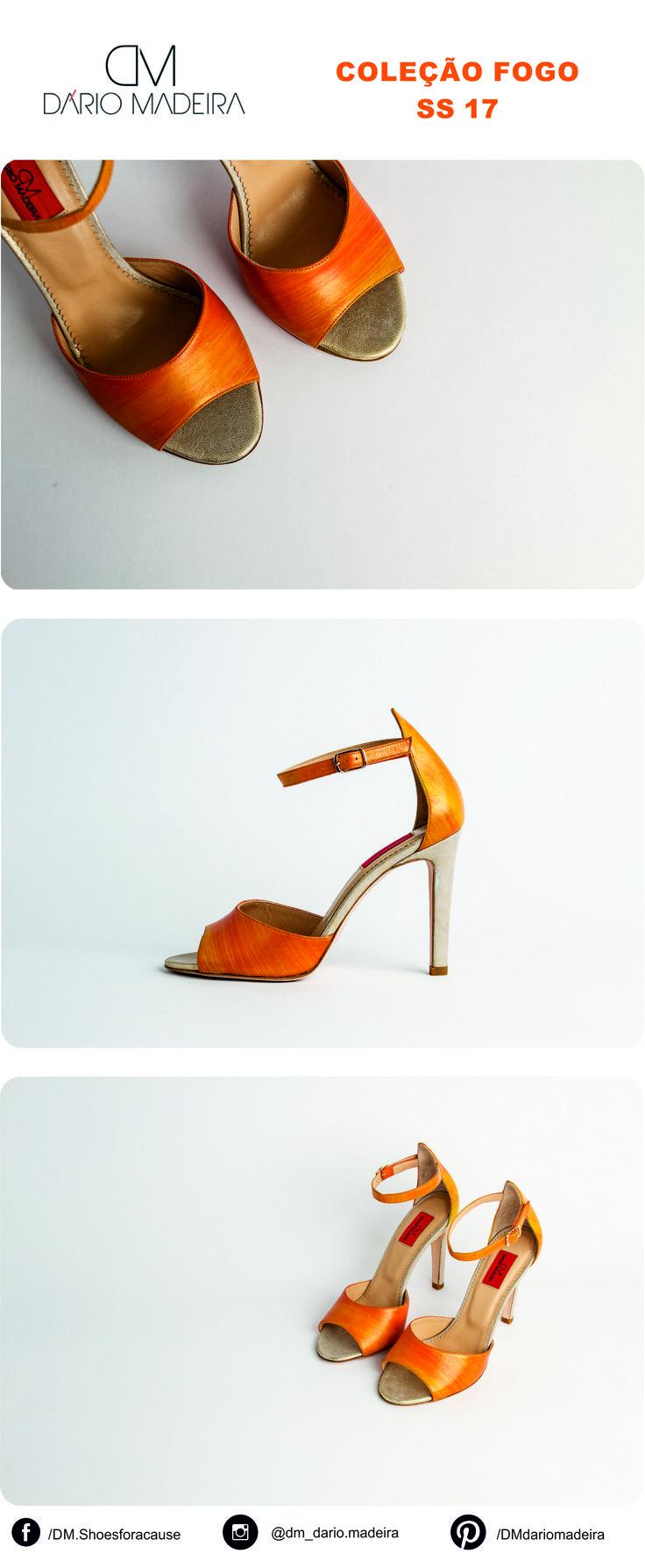 Sandália - Linha Fogo | SS17 | DM - Dário Madeira  Sapato de Senhora | Shoes for a cause | Calçado Português | Portuguese Shoes | Made In Portugal
