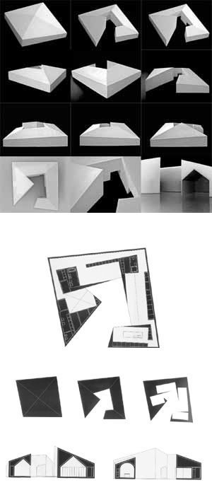 architecture layout _ models and photos / aires mateus: