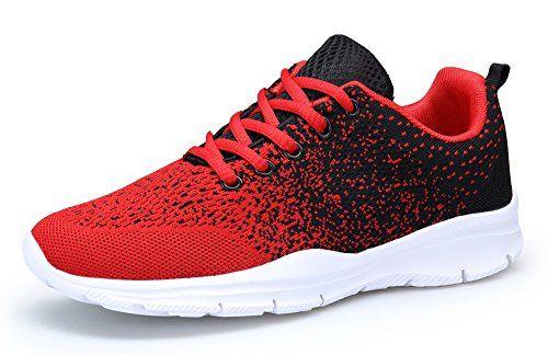 purchase cheap 868ae ab1de DAFENP Chaussures de Course Running Sport Compétition Trail entraînement  Homme Femme Basket Sneakers Outdoor Running Sports