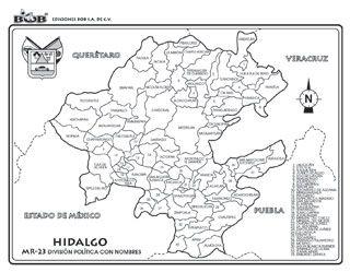 Hidalgo - División política c/n |