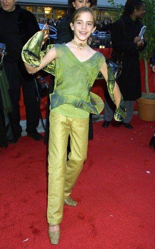 Emma Watson en 2001