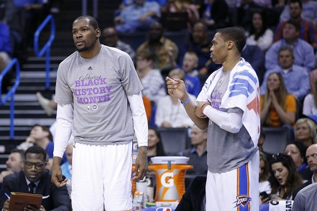Could Russell Westbrook Be Better Than Kevin Durant?-DYNAMIC DUO!!!!