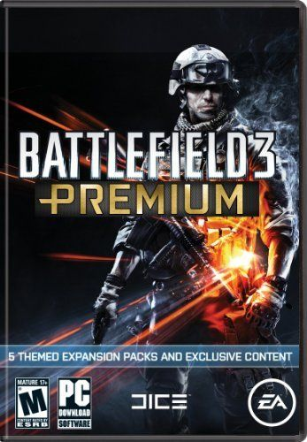 Battlefield 3: Premium Service by Electronic Arts.$49.99.Take your Battlefield 3 multiplayer experience to the next level with Battlefield 3™ Premium! Containing a truly staggering amount of content, Battlefield 3 Premium offers a unique opportunity to play all upcoming expansion packs early, increase your soldier customization options, and receive a number of exclusive in-game items all for a one-time fee.