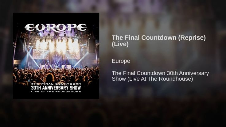 The Final Countdown (Reprise) (Live)