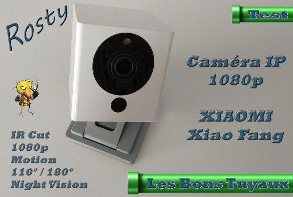 [TEST] Présentation de la Caméra IP XIAOMI Xiao Fang 1080P à 21 Bonjour  Aujourdhui je vais vous présenter la toute nouvelle caméra IP XIAOMIXiao Fang 1080Pqui dispose de plusieurs particularités intéressantes (Ange 110 ou 180 en additionnant deux caméras support aimanté audio etc..)  Cest tout simplement la caméra IP 1080P de qualité la moins chère du marché !  Lemballage est sobre et est très bien étudiécomme dhabitude chez XIAOMI.  A lintérieur on va donc retrouver la caméra un câble USB…