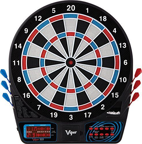 Viper 777 Electronic Soft Tip Dartboard Full review at:http://best10best.com/best-dartboard/