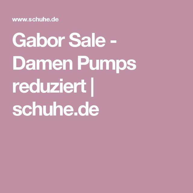Gabor Sale - Damen Pumps reduziert   schuhe.de