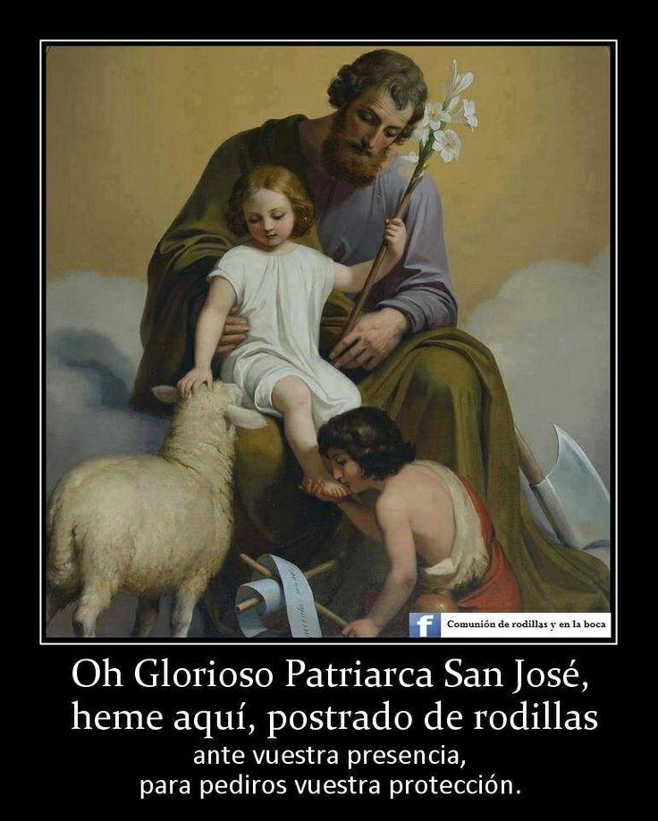 San José ruega por nosotros  Se celebra el 19 de marzo