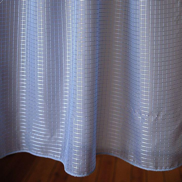 Krateczka na niebie; kolor: niebieski; rodzaj tkaniny: woal