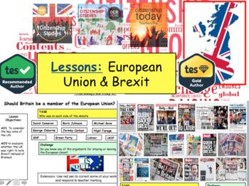 Brexit and the European Union Debate British Politics. This powerpoint has over 25+ slides and will teach students in detail all about the UK Brexit debate and what the European Union is about. The powerpoint contains activities, questions and information useful for