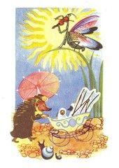 Siilirouva ja lastenrattaat (TJ)   Perromania - pieni postikorttikauppa