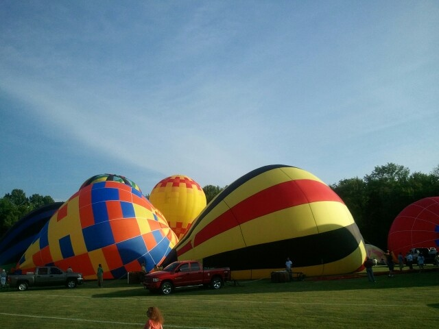 Thurston Classic Hot Air Balloon Race Meadville PA I Remember Being Young Waiting For The Ballons