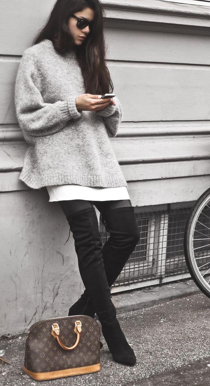 Overknees + Louis Vuitton | Catchys