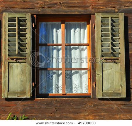 26 best images about log cabin shutters on pinterest for Windows for log cabins
