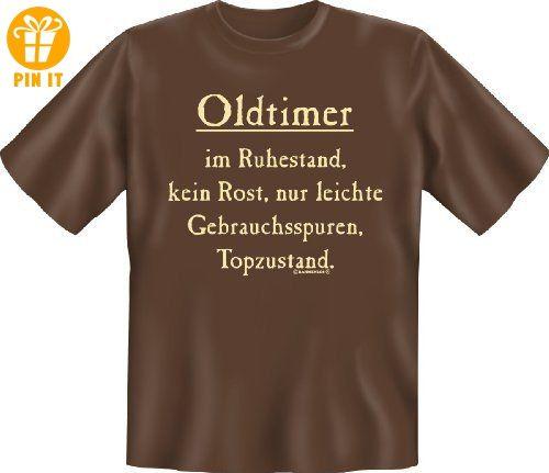 Funshirt Spaßshirt T-Shirt Oldtimer im Ruhestand - T-Shirts mit Spruch | Lustige und coole T-Shirts | Funny T-Shirts (*Partner-Link)