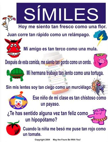 """Cute!  Great for teaching comparisons in Spanish II.  """"Tan ___ como"""" is always the one that they forget!"""