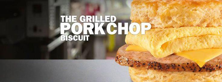 Carl's Jr. Adds Grilled Pork Chop To Breakfast Biscuits