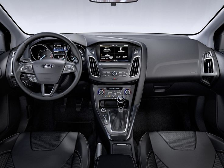 The Interior Of 2015 Focus Is Heavily Revised With All New Dash Architecture And A Softer Less Technical Look Images Are Euro Spec Models
